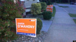 B.C. Vandals Strike Election