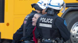 Hundreds Arrested At Quebec