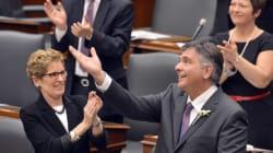 Budget de l'Ontario: les libéraux accordent une semaine au NPD pour se