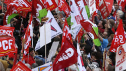 Front de gauche : 30.000 manifestants, bien loin du triomphe