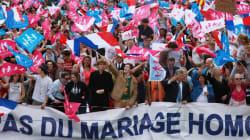 Les opposants au mariage pour tous toujours