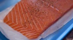 Une entreprise française a importé de Suède du saumon aux
