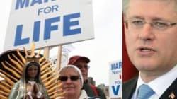 Harper Silencing Anti-Abortion