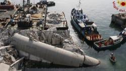 Accident du port de Gênes :