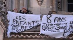 Garde d'enfants : 4 pères passent la nuit dans la cathédrale