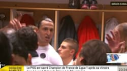 Ibrahimovic et Leonardo fêtent la victoire... en