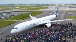 L'A350 a fait son premier
