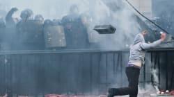 Gli ultra rovinano la festa del Psg (FOTO