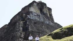 Une pyramide maya rasée par une compagnie de