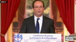 Hollande incognito dans la rue: la petite blague qui fait rire le