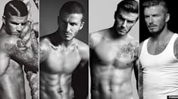 39 photos de David Beckham en sous-vêtements