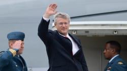 Le premier ministre Stephen Harper au