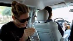 Ke$ha beve la sua pipì in tv