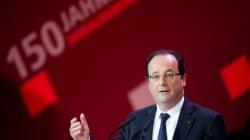 Hollande fait l'éloge du modèle allemand et ça ne plait pas à