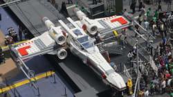 Un vaisseau de Star Wars grandeur nature sur Times