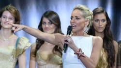 Mélanie Laurent (enceinte) et Paris Hilton à la soirée de