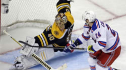 Les Bruins envoient les Rangers en