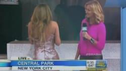 Mariah Carey, fuori programma durante un programma