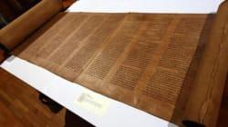Torah, ecco il testo più antico del mondo