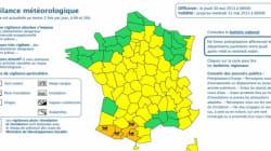 Pluie : 4 départements du sud-ouest placés en vigilance