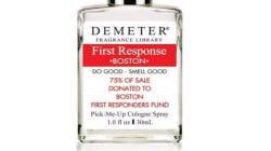 Quelle odeur a le parfum en hommage aux premiers secours de