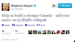 Harper Tweet Raises