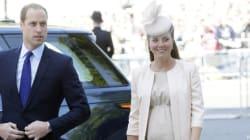 Il pancione di Kate all'incoronazione della Regina