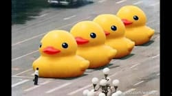 Tiananmen Anniversary Marked With Sneaky