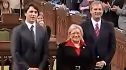 WATCH: Funny, Awkward Moment On MP's First
