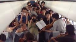 Un concert d'orchestre philharmonique... dans un