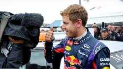 Sebastian Vettel en pole à côté de Lewis