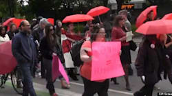 WATCH: Sex Workers Rally In Canadian
