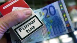 Les ventes de cigarettes en baisse en