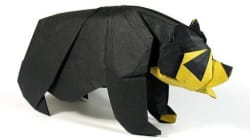 Ecco le foto degli origami bestiali di Nguyễn Hùng Cường