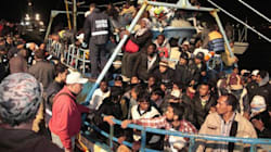 Immigrati annegati aggrappati a una gabbia di tonni