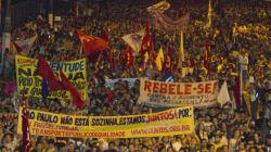 Brésil: manifestations monstres contre la vie chère et le mondial