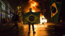 Durante la Confederations Cup, in Brasile scontri in piazza per le spese folli dei mondiali 2014