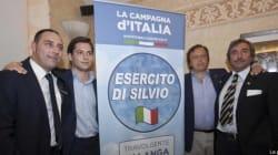 L'Esercito di Silvio scende in campo: