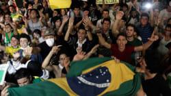 Brésil : affrontements manifestants-police près du stade de Fortaleza, des