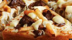 Nous avons testé: la pizza à la poutine au
