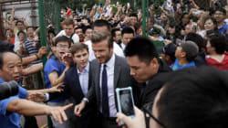 Émeute pour le passage de Beckham à