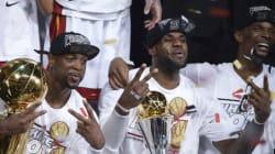 Le Heat de Miami champion