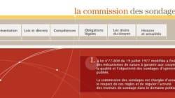 Sondage YouGov-HuffPost-I>télé: mise au point de la Commission des