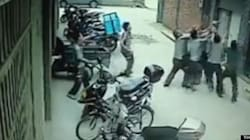 WATCH: Group Of Men Catch Toddler Falling From Fifth-Floor