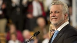 Philippe Couillard courtise les