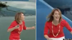 WATCH: B.C. Weather Anchor Loses It Over