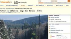 Une station de ski en vente sur Le Bon