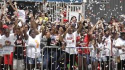 Le Heat célèbre son championnat avec une parade au centre-ville de