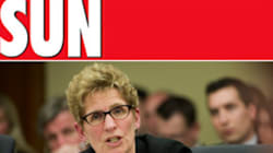 Sun Columnist: Wynne Will Run 'Screaming Back To