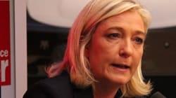 65% des Français ont une mauvaise opinion de Marine Le